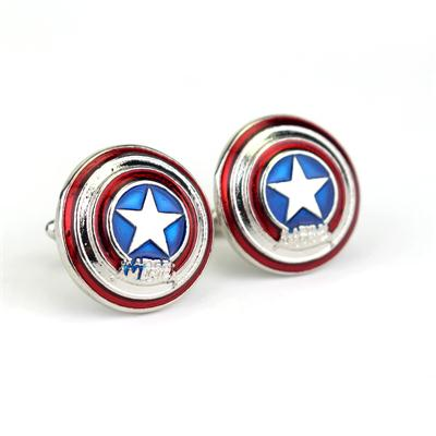 Hero Captain America Avengers Thor Cufflinks Jewelry Fashion